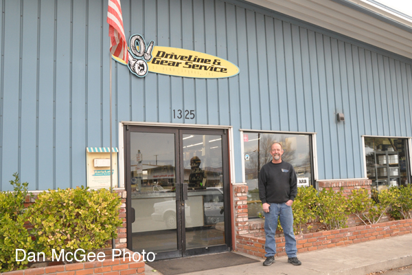 Owner Tom Hauptman stands out side of his shop, Drive Line & Gear Service at 1325 Glendale Ave., in Sparks.