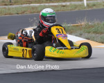 Junior 1 Clone - Chase Dulude heads for victory.