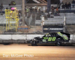 Fernley 95A Speedway - Cory Sample winning the IMCA feadture.