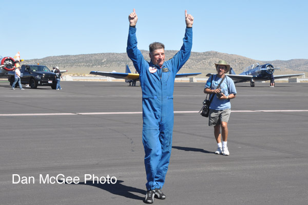 National Championship Air Races - Dennis Buehn the 2015 T-6 champion.
