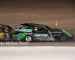 Fernley 95A Speedway - Paul Stone (66P) holds off Brian Poppa.
