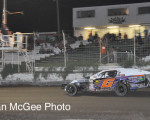 Rattlesnake Raceway - Zach Cail heads for the checkered flag.