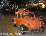Santa Crawl - decorated VW