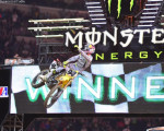 Supercross - Ken Roczen wins in Texas.