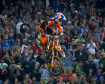Supercross - Ryan Dungey 450 winner.