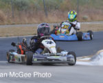 Northern Nevada Kart Club: Jr.-1, Hill and Gourley.