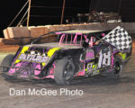 Lovelock Speedway: Joel Myers, IMCA winner.