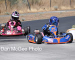 NNKC: Graves leads Wright in Kid Kart main.