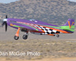National Championship Air Races: Hinton & Voodoo take off.