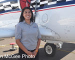 National Championship Air Races: Lady Mechanic.
