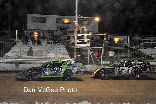 Cory Sample: 100th IMCA Victory.